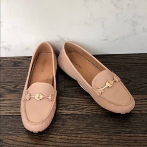 Coach Arlene Loafers in 'Natural'
